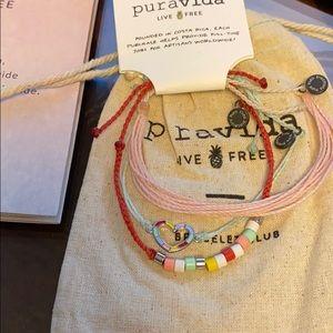 Puravida February Monthly Bracelet Kit NEW